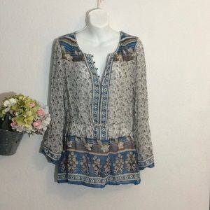 Tops - Lucky Brand Blouse- Size M